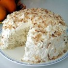 Coconut Cake I - This cake starts with a white cake mix and ends up with four layers with a yummy coconut filling.