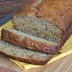 Ginger Banana Bread - Moist banana bread has a little extra kick, thanks to ginger added to the batter, makes for a tasty way to start the day.