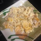 Turkey Tetrazzini - This is a great recipe for leftover turkey.  Even those who say they don't like turkey will eat this.  May be assembled in advance and frozen: heat covered dish at 350 degrees F (175 degrees C) for 1 1/2 hours.