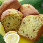 Lemon Pistachio Zucchini Bread - Pistachios add a delicious and flavorful crunch to these lemony slices of zucchini bread.