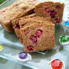 Citrus Cranberry Zucchini Bread - Zucchini bread, with a hint of lemon and orange, and accented by dried cranberries, is a delicious twist on a summer classic.
