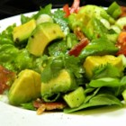 Bacon Avocado Salad - Enjoy this bacon avocado summer with cherry tomatoes during the hot summer months for a refreshing treat.