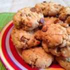 Special Edition Peanut Butter Cookies - The old favorite peanut butter cookie gets the special addition of oats, chocolate chips, and coconut creating a fun snack for the lunch box.