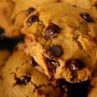 Pumpkin Chocolate Chip Cookies III - If you like pumpkin pie and chocolate, you'll love these cookies.  I think they taste best when they are cold from the refrigerator.