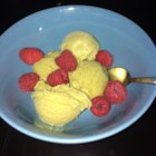 Vanilla Ice Cream II - A no-cook recipe designed for a large electric ice cream maker. This recipe contains raw eggs.