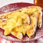 Apple-Cinnamon French Toast - Tender cooked apples top this cinnamony French toast.