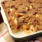Apple-Cranberry Crisp by PAM(R) - Deliciously sweet streusel topping over a blend of tender apples and cranberries.