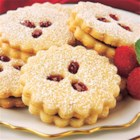 Linzer Cookies by PAM(R) - Raspberry preserves sandwiched between buttery cut-out cookies.