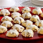 Snow-Capped Sour Cream Drops - Mouth-watering sour cream cookies filled with cranberries, chocolate and pecans.