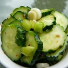 Cucumber Salad With Thai Sweet Chili Vinaigrette - This cucumber salad brings a combination of cool, spicy, and sweet to the picnic.