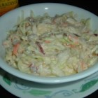 Zesty Coleslaw - This zesty coleslaw is a nice change from the regular coleslaw. I add even more horseradish for extra zing.