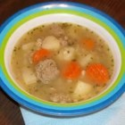 Tarragon-Turkey Soup - This is a quick, yummy soup perfect for a cool evening.