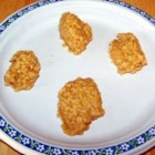 No-Bake Peanut Butter Cookies III - These cookies were always served for school lunch.  I got the recipe after marrying from one of the cooks, and have made it many times since.  This cookie generally is seen with cocoa, but I like this one better, it doesn't have any.