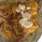 Creamy Beef Enchiladas - Cream cheese is the unusual visitor to this enchilada recipe, adding a creamy component to a favorite Mexican standard.