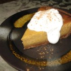 Poetic Pumpkin Pie - Pumpkin pie gets a little more poetic when you bake it in a cinnamon-based crust and top it with sweet brown sugar whipped cream.