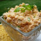 Mexi Corn Dip - Green chiles, Mexican corn, and cheese make this a winning dip for your next party.