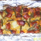 Sausage-Potato Casserole - Before you get out and shovel that snow, fortify yourself with kielbasa, potatoes and cheese baked with a dash of dried dill and nutty caraway seeds. What a great stick-to-your ribs, family-friendly casserole.