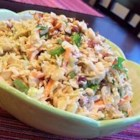 Polynesian Coleslaw - Rather than mayo, this coleslaw uses an Asian-flavored peanut sauce for a change of pace.