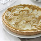 Pumpkin Cheesecake Swirl Pie - The best of fragrant pumpkin pie and creamy cheesecake combine in this delightfully marbled cheesecake pie.