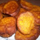 Pumpkin Fritters - Plump little pumpkin fritters with a hint of curry.