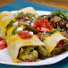 Zucchilattas - Zucchini enchiladas are great way to enjoy fresh garden vegetables.