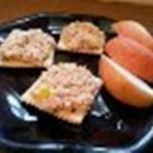 Canned Salmon Lunch - Use a little bit of the pickling liquid from the mild pepper rings you chop and add to salmon and mayonnaise for this tasty spread perfect for quick lunches.