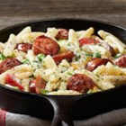 Hillshire Farm(R) Sausage Alfredo - This creamy pasta and sausage dinner gets some heat from Cajun seasoning, and it's ready to serve in 15 minutes.