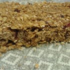 Banana Oatmeal Protein Bars - These oat-and-peanut butter bar cookies feature chia seeds and protein powder.