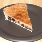 Sour Cream Custard Pie -  Cinnamon, cloves, nutmeg, sour cream and lots of raisins make this custard pie special. Everything is stirred together in one big bowl, and then the mixture is spooned into a pastry shell and baked. Let the pie cool and serve it with whipped cream or vanilla ice cream.