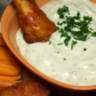 Ranch Dipping Sauce - A tasty dip for vegetables and/or crackers.