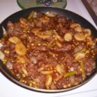 Cube Steak Stew - This stew is fast and easy. It uses canned vegetables and bottled browning sauce to speed preparation. It simmers for less than half an hour.