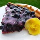 Topless Blueberry Pie - Oodles of blueberries are cooked up with sugar, water and cornstarch, until a thick and wonderful sauce has been created. Then even more blueberries are stirred in, and then this luscious berry concoction is poured into a pre-baked pastry shell and slipped into the fridge to chill. Serve this pie with lots of freshly-whipped cream.