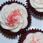 Easy Red Velvet Cake - Intimidated by the idea of making a red velvet cake?  This recipe will quell your fears!  A white cake mix is combined with chocolate pudding mix, buttermilk and red food coloring; it's that simple!