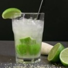 Caipirinha - Lime and cachaca (Brazilian cane brandy) lightly sweetened. A refreshing and delicious cocktail.