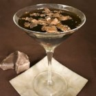 Chocolate Martini a la Laren - Chocolate liqueur and vodka are shaken with ice and garnished with chocolate shavings.