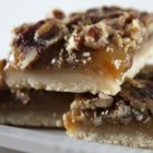 Pecan Pie Bars I - These pecan pie bars are great for the children and adults in any family.