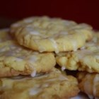 Lemon Crisps - Easy cake mix lemon cookies.