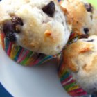 Chocolate Chip and Blueberry Muffins - Chocolate chip and blueberry muffins are a fun breakfast or brunch version of the traditional blueberry muffin.