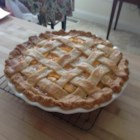 Chef John's Peach Pie - Chef John's recipe for lattice-top peach pie is the perfect summer dessert.
