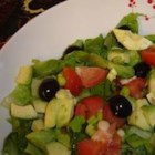 Tequila Lime Salad - This wonderful lettuce salad has a kick. Serve with chicken on top for an entree, or use it as a great side one its own.