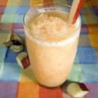 Rhubarb Slush - This is a refreshing spring time beverage. It is also a great way to use up all that fresh rhubarb.