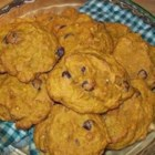 Crystal's Chocolate Chip Pumpkin Cookies - Pure pumpkin mixed with chocolate chips and walnuts makes these easy drop cookies a perfect autumn treat.