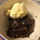 Hot Fudge Sundae Cake - No messy clean-up with this one.  Just mix and bake in the same pan. Serve with any flavor ice cream.