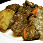 Pot Roast with Sour Cream Gravy - Pot roast with a sour cream gravy is a warm and comforting meal to prepare on cold winter evenings.