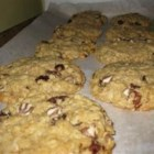 Olympic Gold Medal Cookies - These cookies are pure energy! Oatmeal, wheat germ, raisins and nuts will put you in first place for sure.