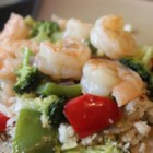 Spence's Secret Thai Red Shrimp Curry - This Thai red curry recipe has an interesting Canadian twist: Spence's secret ingredient is pure Canadian maple syrup. Serve hot with basmati or jasmine rice.