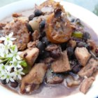 Pork and Black Bean Stew - This Brazilian pork stew features both pork tenderloin and chorizo sausage. My Brazilian friend makes this for me occasionally and it is fabulous!