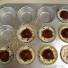Mini Cheesecakes II - One-serving-size cheesecakes. You can top with fruit, preserves, nuts, or chocolate.