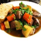 Irish-Style Lamb Stew - Authentic Irish-style stew made with lamb, potatoes and carrots.