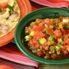 Fresh Tomato Salsa Restaurant-Style - Fresh tomato salsa with green onions, garlic, and cilantro is a refreshing addition to Mexican-inspired meals.